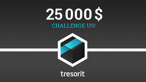 Tresorit doubles price on its head and challenges top hackers!