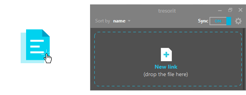 Tresorit public sharing feature is here. Get encrypted link!