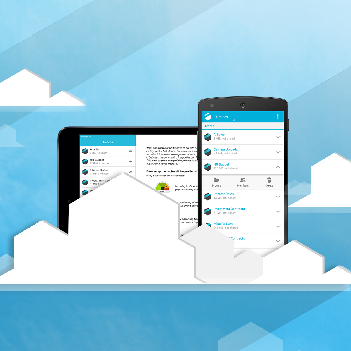 Combination of mobile and cloud technology transforming communication. See how!