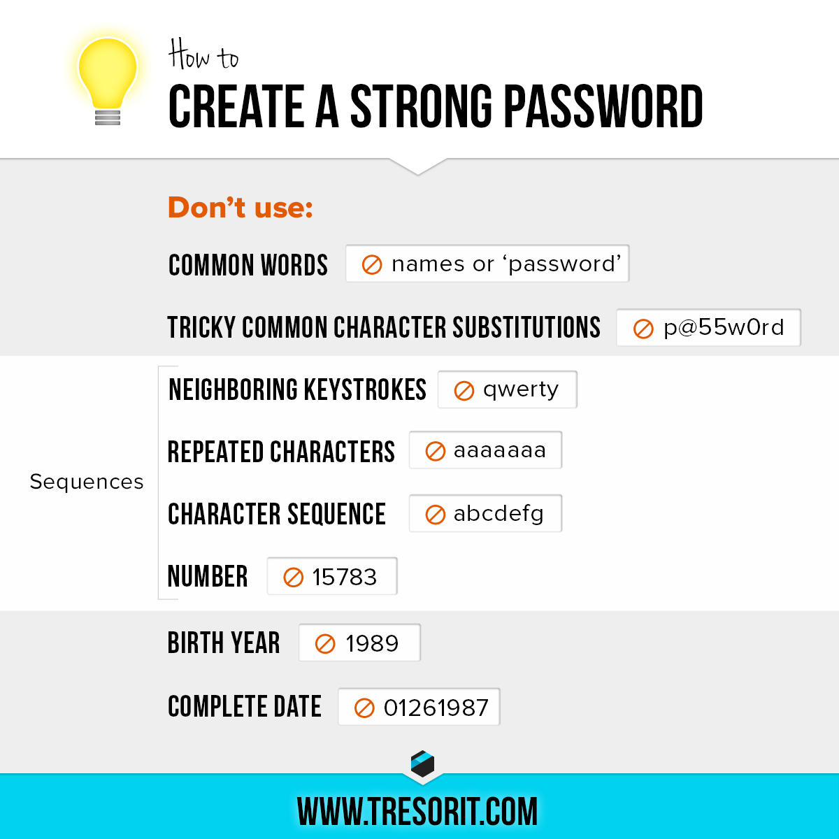 Changing Passwords?  Here is How to create strong passwords