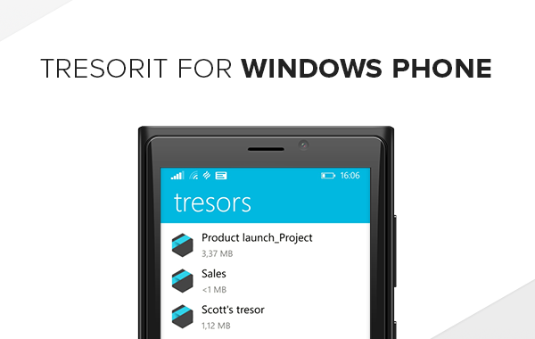 Introducing Tresorits Windows Phone Cloud Storage App