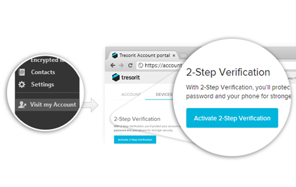 Introducing 2-Step Verification for Tresorit