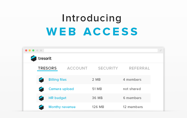 Introducing the zero knowledge Tresorit Web Access