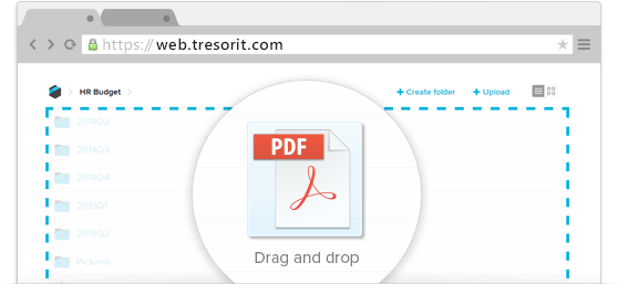 Our biggest update yet in 2015 – work securely without installing Tresorit, using your browser