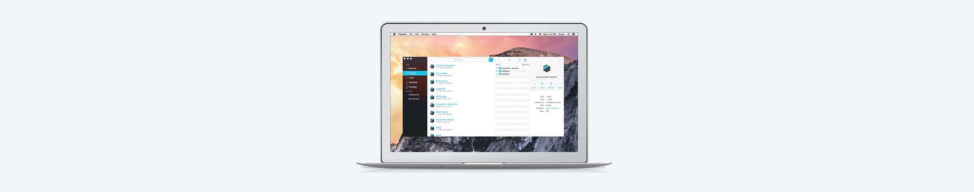 Hier kommt das neue Tresorit 3.0 User-Interface