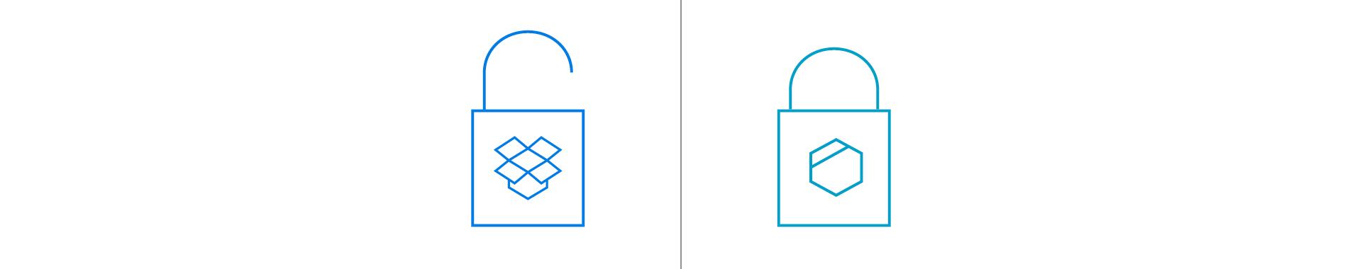 Was Sie zum Dropbox-Hack, Passwörtern und Ende-zu-Ende-Verschlüsselung wissen sollten
