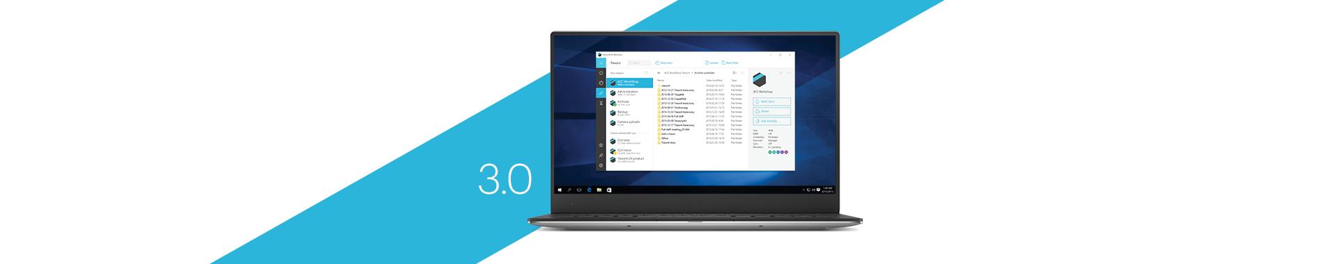 Tresorit 3.0 kommt auch für Windows