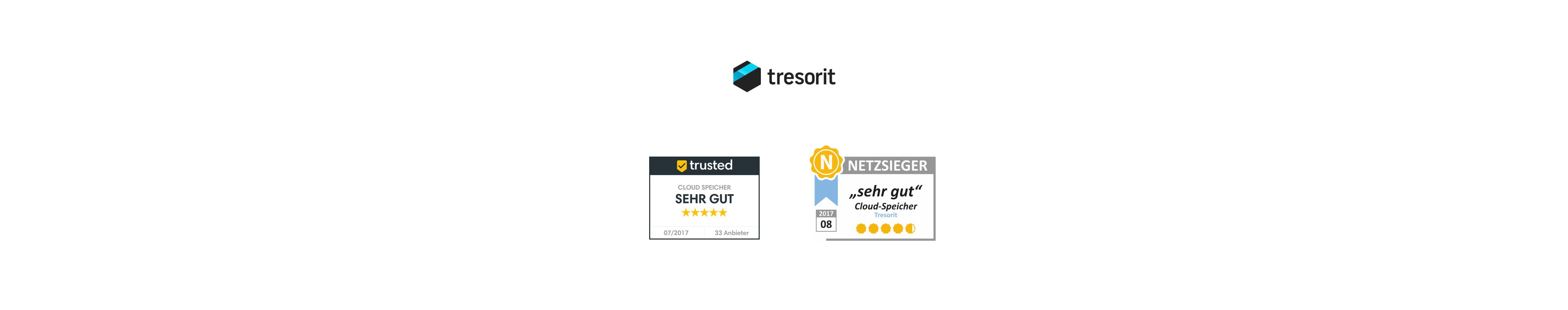 """Doppeltes """"Sehr gut"""" für Tresorit im Test"""