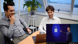 István Lám & Péter Budai react to Mark Zuckerberg's F8 keynote