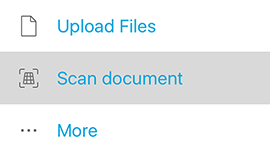 Scan and upload documents – Tresorit Knowledge Base