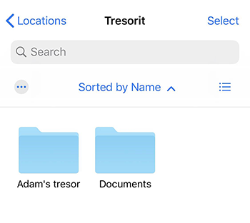 Edit cloud files from your iPhone or iPad – Tresorit