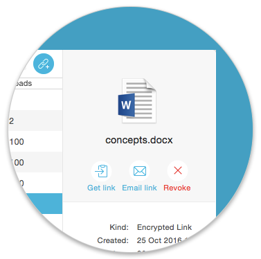 Send confidential files easily