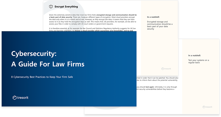 Data security: A Guide For Law Firms