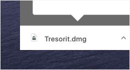 Start the Tresorit installer.
