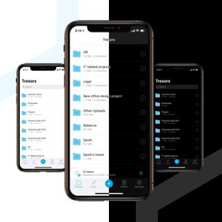 Dark mode for iOS