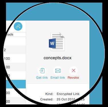 Send confidential files easily