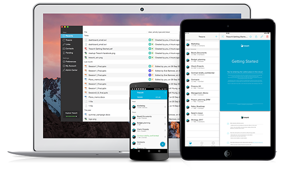 Work with your team securely, wherever you are