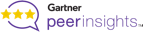 Tresorit's rating on Gartner peer insights