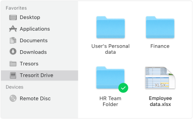 Tresorit Drive I Access files whether they are synced or not